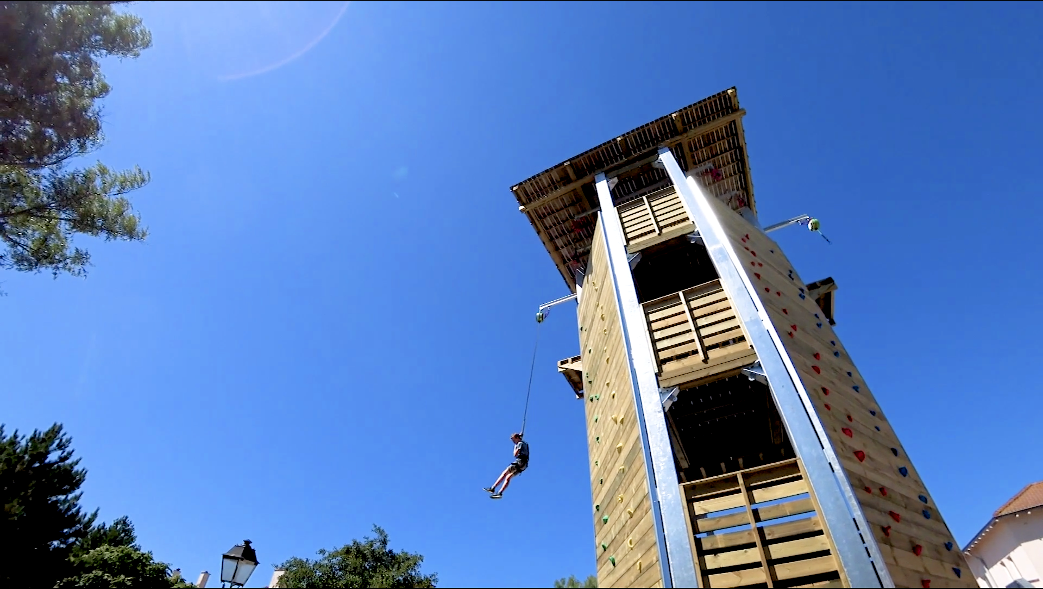 Tour de saut - Center Parc Port Zelande